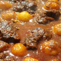 Sukalki, guiso de carne vasco