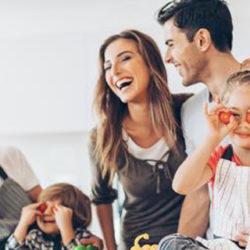 Los niños que comen bien son más sociables